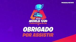 Fortnite - Classificatórias pro Mundial - Semana 8 - DUOS #4