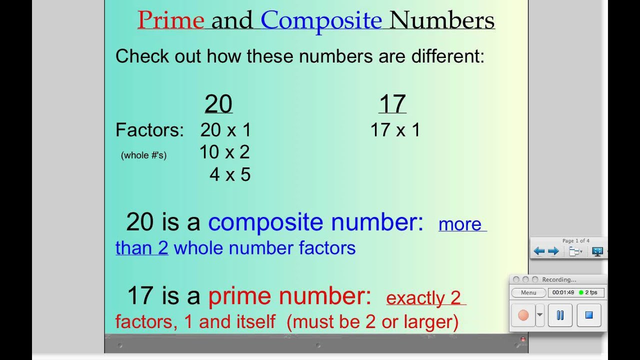 what are prime numbers - HD1280×800