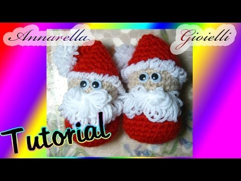 Amigurumi Tutorial Natale : Tutorial amigurumi Babbo Natale uncinetto How to ...