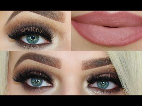 Smokey Brown Eye Makeup Tutorial