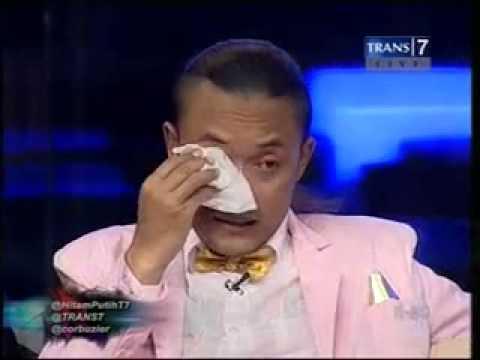 Sule dan Rizky menangis di Hitam Putih Trans7