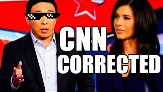 CNN SMEARS Andrew Yang with False Nationalist Claims