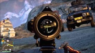 Far Cry 4 - Arma Serra circular -Conquista de todas as torres de trasmissão