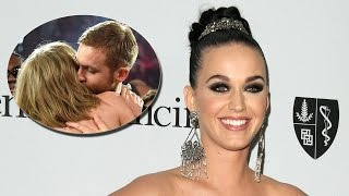 Katy Perry RESPONDS To Calvin Harris Bashing Taylor Swift