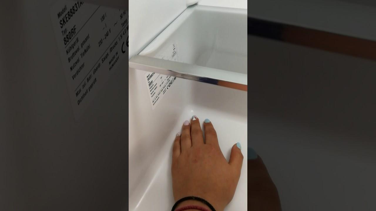 Aeg Kühlschrank Festtür Montage : Aeg einbaukühlschrank ske af produktvorstellung youtube