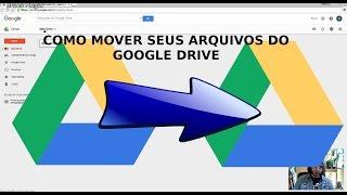 Como mover seus arquivos do Google Drive para outra conta de forma SIMPLES, sem baixar ou pagar