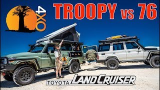 Baixar TROOPY VS 76-WAGON? WHAT'S BETTER? Toyota Land Cruiser Review