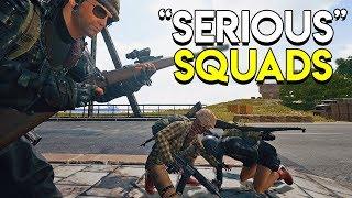 """SERIOUS"" SQUADS - PlayerUnknown's Battlegrounds (PUBG)"