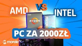 INTEL vs AMD w komputerze do gier za 2000 zł