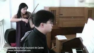 Bach's Jesu, Joy of Man's Desiring (Violin and Organ)