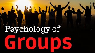 Psychology of Groups - Even minimal similarities tie together (Learning Psychology)