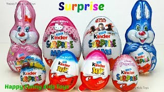 Kinder Surprise Maxi Eggs Hello Kitty Star Wars, Kinder Joy Disney Princess Disney Pixar Cars Toys