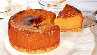 クリームブリュレキャラメルチーズケーキの作り方 How to make Creme Brulee Caramel Cheesecake