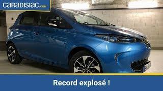 La Renault Zoé ZE40 R110 jusqu'à la panne : la norme NEDC dépassée de... 160 km !