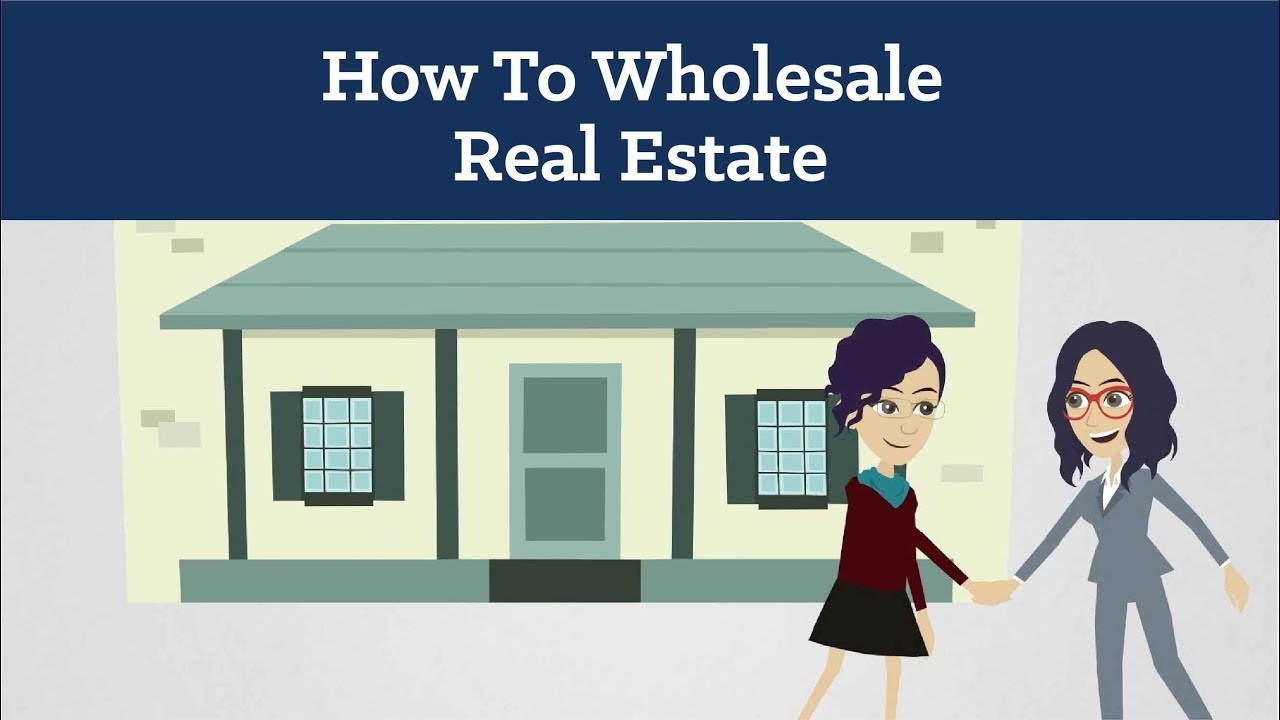 How To Wholesale Real Estate For Beginners - YouTube