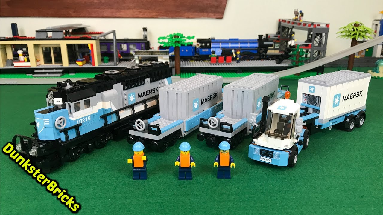 Lego Maersk Train Set 10219 From 2011 Info Footage And Gopro