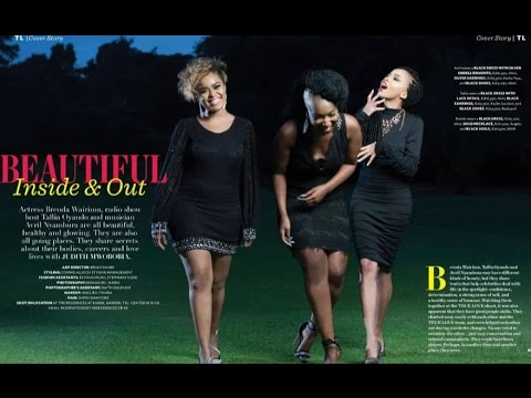 Brenda, Talia & Avril - True Love Magazine Sept 2016 Behind the Scenes Look