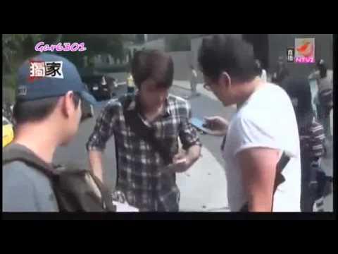 110512- Extravagant Challenge-Siwon at shooting Skip Beat drama