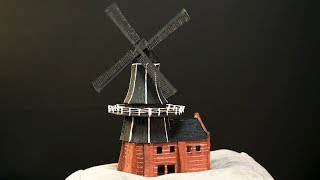 Create a Windmill with 3D pen