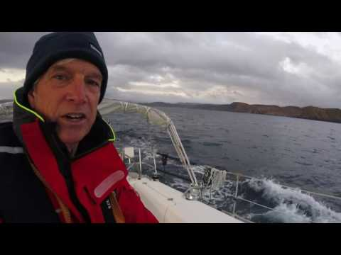 Episode 5 Sailing to Azores Solo: Collision at Sea Warning
