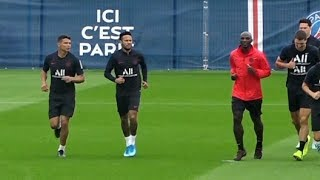 Neymar Trains With PSG Teammates Ahead Of Game Against Rennes | Sports Tak
