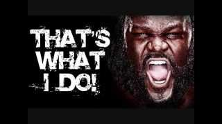 Mark Henry WWE Theme Song - Some Bodies Gonna Get It (Excellent Quality)