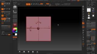 введение в Zbrush : Оси и симметрия урок 7