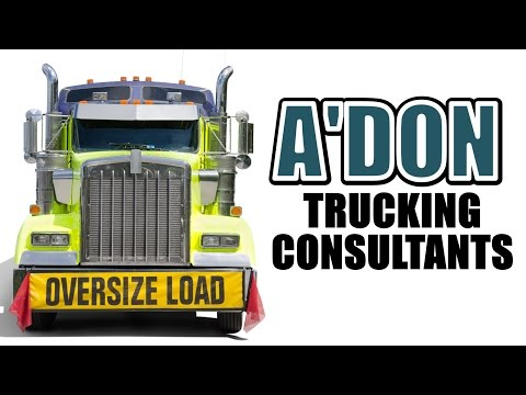 Adon Trucking Consultants:  Adon Trucking Services 888-652-3332