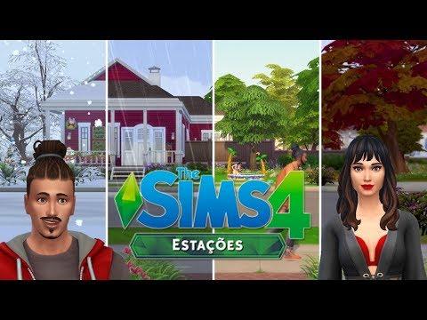 The Sims 4 Estações #1 Primavera