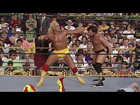 Hulk Hogan and Brutus Beefcake vs. The Million Dollar Man & Irwin R. Schyster: WrestleMania 9