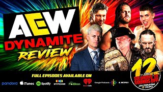 AEW DYNAMITE CODY'S BIG ANNOUNCEMENT! Full Show Review & Highlights 11/6/19