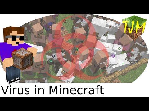 Virus In Minecraft [Vanilla Tutorial]