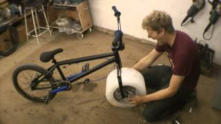 Making the ICE bike(Making the moulds and hacking the bike frame to build the ICE BIKE. See the bike in action here. http://youtu.be/5iA5mbNOats And subscribe world its free and i ..., 2014-11-02T16:00:09.000Z)