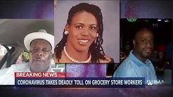 NBC Nightly News on the fears faced by American grocery workers during coronavirus