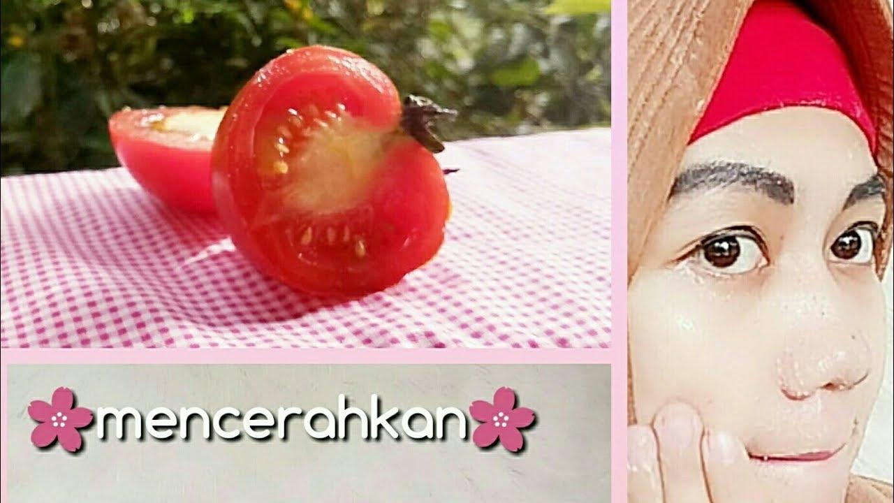 Tips Putih Cerah Alami Dengan Masker Tomat Tepung Beras Dan Madu Ii Cara Membuat Masker Tomat Ii Diy Youtube