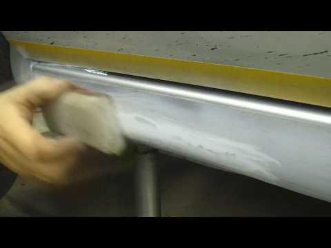 Покраска порогов своими руками видео