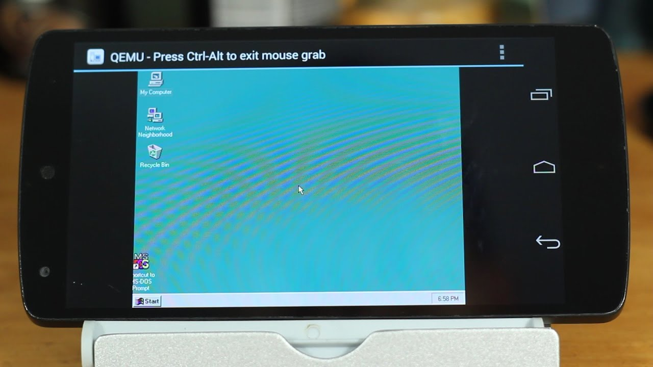 Run Windows 95 on Android - Bennett Notes