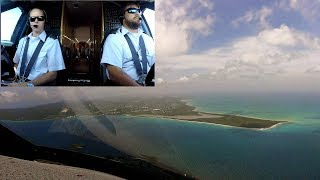 Gulfstream G-IV Landing in St. Croix Before Hurricane Maria