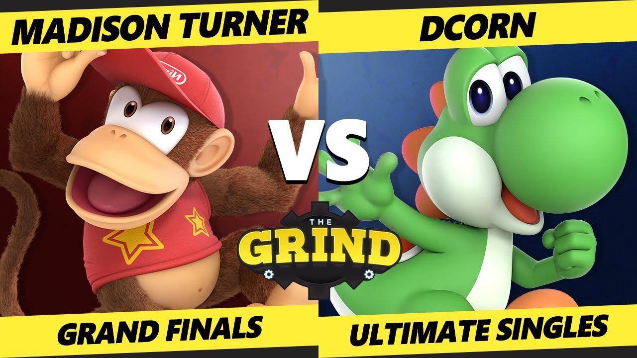 The Grind 131 Online Grand Finals - DCorn [L] (Yoshi) Vs. Madison Turner (Diddy Kong) Smash Ultimate
