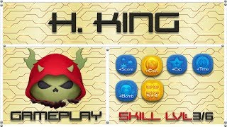 Line Disney Tsum Tsum - Horned King SL3 Gameplay