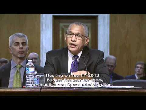 NASA Proposed FY 13 Budget, Senate Appropriations Committee Hearing, March 28, 2012.