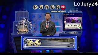 2018 09 12 Powerball Numbers and draw results