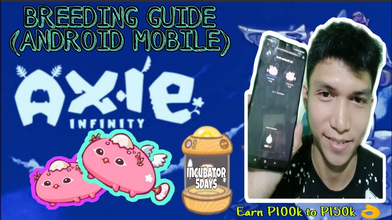 Download PAANO MAG BREED NG AXIE?  HOW TO BREED IN AXIE INFINITY?   FULL TUTORIAL USING MOBILE