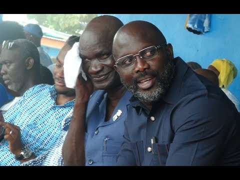 Liberty Party Endorses George Weah Presidential bid, but Charles Brumskine absent