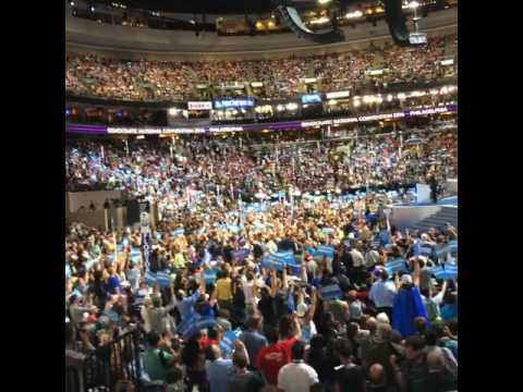 Bernie Sanders supports Clinton at DNC