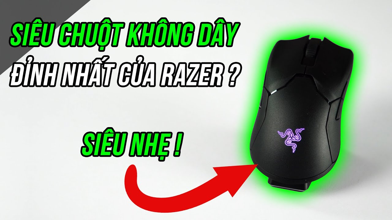 Chuột không dây tốt nhất thế giới? Review chuột Razer Viper Ultimate| Playzone TV