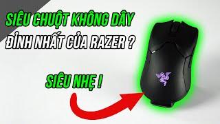 Chuột không dây tốt nhất thế giới? Review chuột Razer Viper Ultimate