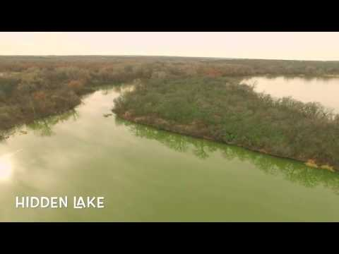 Hidden Lake on Lake Worth near the old Chisholm trail