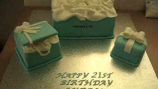 Tiffany & Co Box Set Cakes