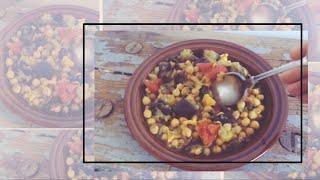 Bohnen ohne pupsen & Kichererbsen-Auberginen-Eintopf